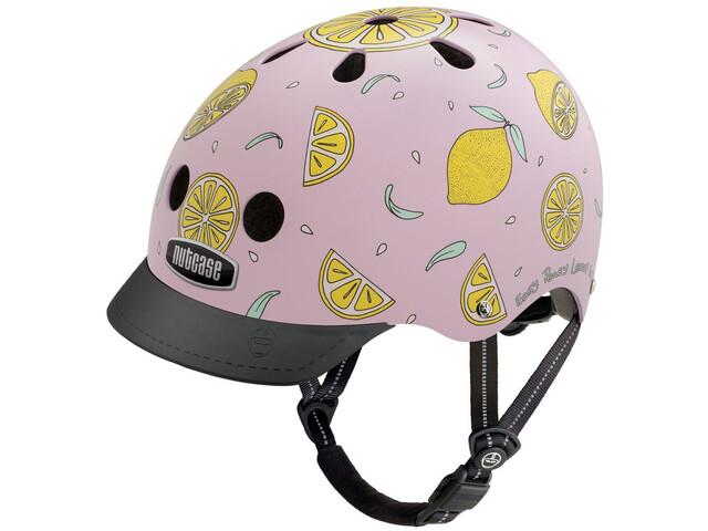 Nutcase Street Helmet Barn pink lemonade
